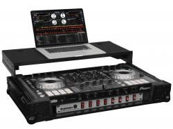 "ODYSSEY FZGSPIDDJSX2BL Black Label Glide Case with 19"" Rack Mount for Pioneer DDJ-SX and SX2"
