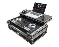 ODYSSEY FZGSPIDDJSX Flight Zone Glide Case for Pioneer DDJ-SX and SX2