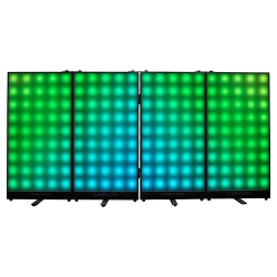 ODYSSEY HLFXF4P1 Four Panel Headliner FX LED Facade HLFXF4P1 HEADLINER LED FACADE