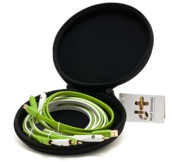 OYAIDE NEO D+ CLASS B DJ CABLE SET (Two RCA + One USB) with Cable Bag CLASSB-DJ-CABLE-SET