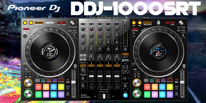 Latest Pioneer DJ Equipment- Get New Pioneer DDJ-1000SRT Controller