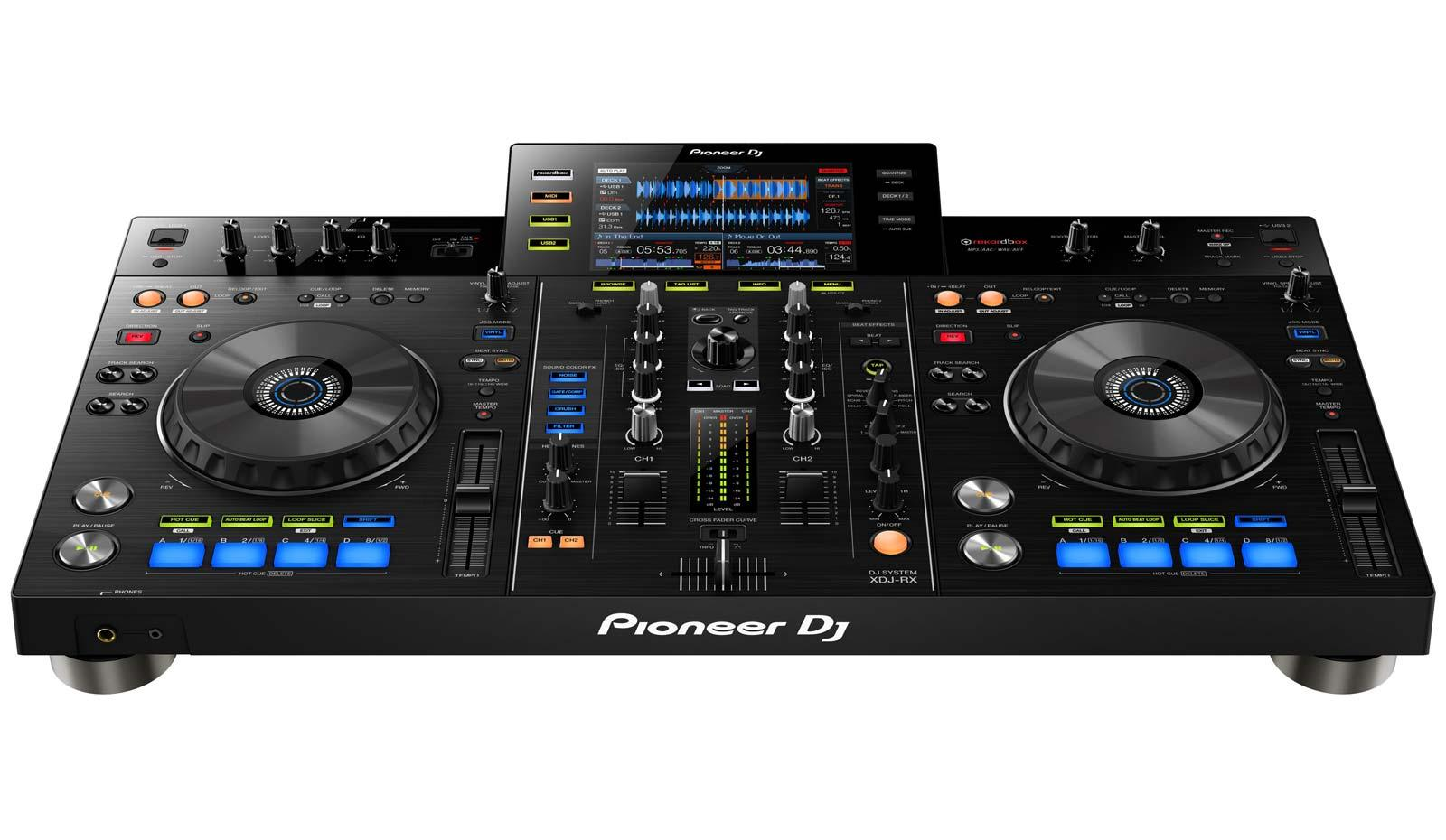 pioneer xdj rx all in one dj controller player system with large full color screen agiprodj. Black Bedroom Furniture Sets. Home Design Ideas