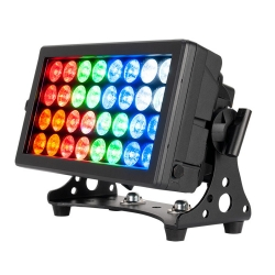 AMERICAN DJ ADJ 32 HEX Panel IP Multi-functional Wash Blinder Color Strobe Fixture 32 HEX Panel IP