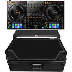 PIONEER DDJ-1000 Controller + Back Case Bundle DDJ-1000 Black Case Bundle