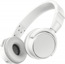 PIONEER DJ HDJ-S7-W Professional On-Ear DJ Headphones (White) HDJ-S7-W