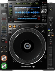 PIONEER DJ CDJ-2000NXS2 Professional Club Standard Multi Player - Supports USB, SD Card, CD and DJ Software