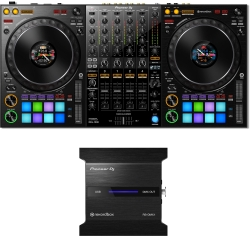 PIONEER DDJ-1000 rekordbox Controller + RB-DMX1 Lightshow Interface Bundle DDJ-1000 RB-DMX1 BUNDLE