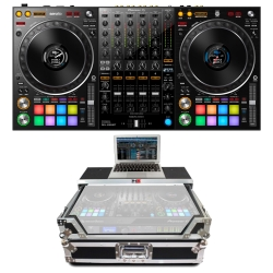 PIONEER DDJ-1000SRT Bundle with Controller + PROX Chrome/Black Case DDJ-1000SRT BUNDLE - CHROME/BLACK