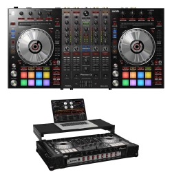 PIONEER DJ DDJ-SX3 Bundle with Controller + Odyssey 1U Black Case DDJ-SX3 BUNDLE - BLACK