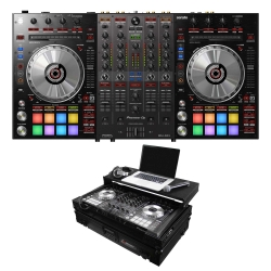 PIONEER DJ DDJ-SX3 Bundle with Controller + Odyssey Black Glide Case DDJ-SX3 BUNDLE - BLACK