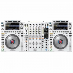 PIONEER DJ DJM-900NXS2-W + 2 CDJ-3000-W Complete Limited Edition System in White