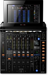 PIONEER DJ DJM-TOUR1 TOUR System 4-Channel Digital Mixer with Fold-Out Touch Screen DJM-TOUR1