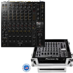 PIONEER DJM-V10 Bundle with Six-Channel Mixer + Odyssey Flight Case DJM-V10 BUNDLE