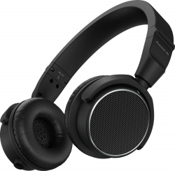 PIONEER DJ HDJ-S7-K Professional On-Ear DJ Headphones (Black) HDJ-S7-K