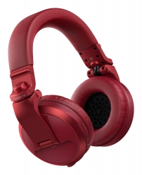 PIONEER DJ HDJ-X5BT-R Over-Ear DJ Headphones with Bluetooth® - Red HDJ-X5BT-R