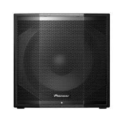 "PIONEER XPRS115S 1200 Watt Reflex Loaded 15"" Powered Subwoofer with Powersoft Amplifier XPRS115S"