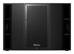 "PIONEER XPRS215S 1200 Watt Dual 15"" Powered Subwoofer with Powersoft Amplifier XPRS15S"