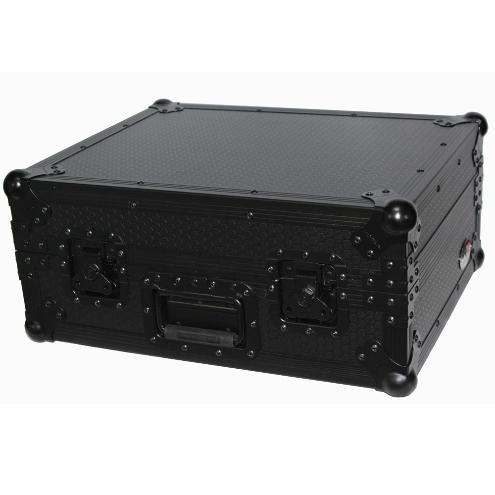 prox t ttbl black on black turntable flight case flight. Black Bedroom Furniture Sets. Home Design Ideas