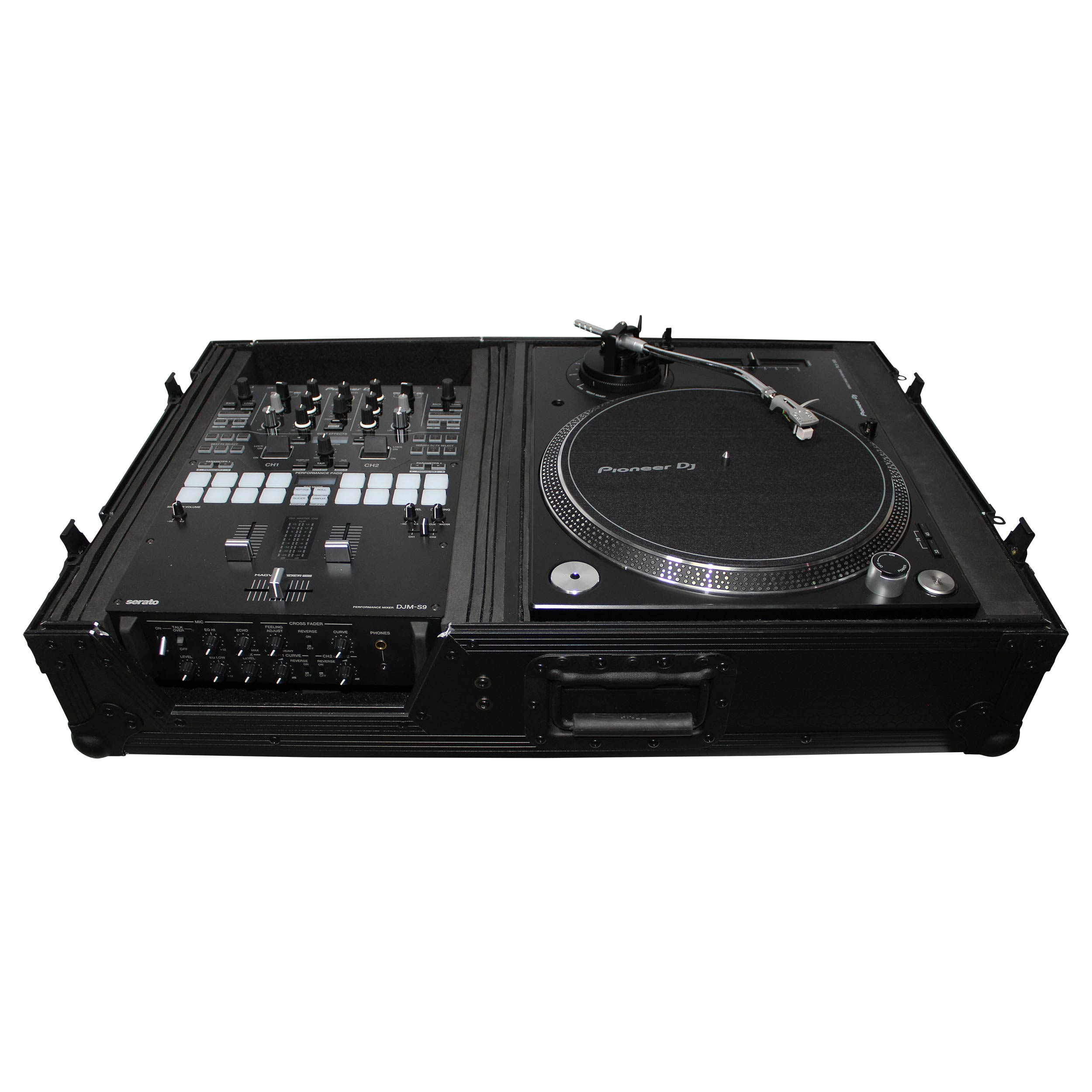 pioneer dj djm s9 mixer free prox black flight case bundle agiprodj. Black Bedroom Furniture Sets. Home Design Ideas