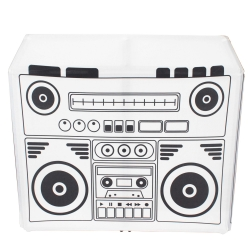 PROX XF-MESA SWBBOX Boombox Scrim Kit for XF-MESA DJ Booth Facade MESA TABLE BOOMBOX SCRIM