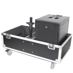 PROX X-RCF-EVOX8J8X2W ATA Style Flight-Road Case For RCF EVOX 8 J8 JMIX8 Speaker Array System X-RCF-EVOX8J8X2W