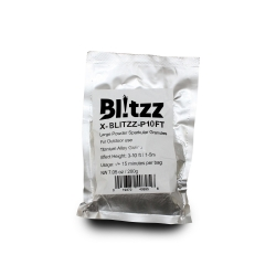 PROX X-SM-P10FT Blitzz Large Powder Cold Spark Effect Granules For Outdoor use Titanium Alloy Grains Effect Height: 3-10 ft / 1-3m X-SM-P10FT Spark Granules