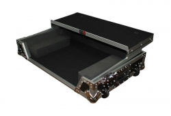 PROX XS-DDJSXWLT Flight Case with Penn-Elcom Wheels for Pioneer DDJ-SX, DDJ-SX2, and DDJ-RX