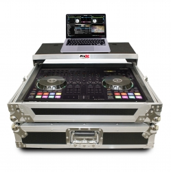 PROX XS-DJ707 LT Flight Case For Roland DJ-707M Digital Controller with Laptop Shelf XS-DJ707 LT