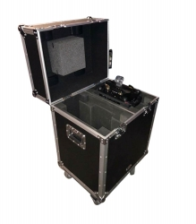 PROX XS-MH140X2W Rolling Flight Case for Two Large Moving Head Lights XS-MH140X2W