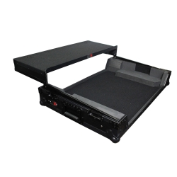 PROX DIRECT XS-NS7IIIWLTBL Digital Controller Road Case for Numark NS7II and NS7III Black on Black XS-NS7IIIWLTBL