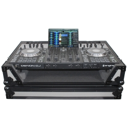 PROX XS-PRIME4 WGB Gray/Black Flight Case with Wheels for Denon Prime 4