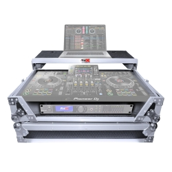 PROX XS-XDJXZ WLT Flight Case with Laptop Shelf and Wheels for Pioneer XDJ-XZ XS-XDJXZ WLT