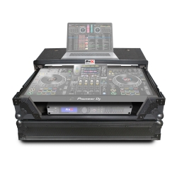 PROX XS-XDJXZ WLTBL Black on Black Flight Case with Laptop Shelf and Wheels for Pioneer XDJ-XZ XS-XDJXZ WLTBL