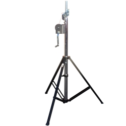 PROX XT-CRANK14FT-220 Heavy Duty 14' High Truss Crank Up Lighting Stand - Holds 220 Pounds XT-CRANK14FT-220