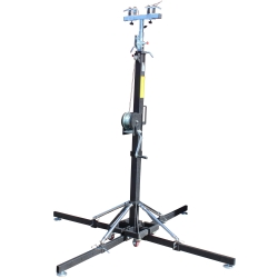 PROX XT-CRANK18FT-330 Heavy Duty 18' High Truss Crank Up Lighting Stand - Holds 330 Pounds XT-CRANK18FT-330