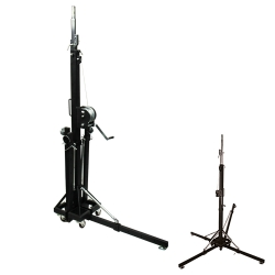 PROX XT-CRANK22FT-400 Heavy Duty 22' High Truss Crank Up Lighting Stand - Holds 400 Pounds XT-CRANK22FT-400