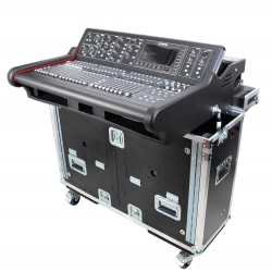 PROX XZF-MIDM32 Flip Ready Hydraulic Lift Case for Midas M32 Console by ZCase XZF-MIDM32