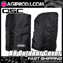 QSC K8 Outdoor Cover Protective Weather-Resistant Cover K8 OUTDOOR COVER