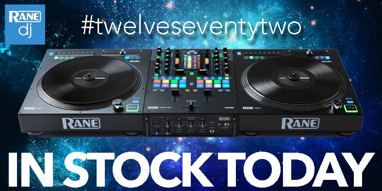 New Rane DJ Equipment In Stock  - Rane 12, Rane 72