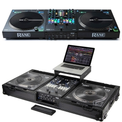 RANE SEVENTY-TWO + 2 x TWELVE Bundle with Free Black Coffin Flight Case Seventy-Two + 2 x Twelve System + Free Black Flight Case