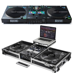 RANE SEVENTY-TWO + 2 x TWELVE Bundle with Free Coffin Flight Case Seventy-Two + 2 x Twelve System + Free Flight Case