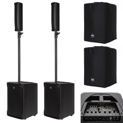 RCF EVOX J8 / JMIX8 Bundle + Black Covers