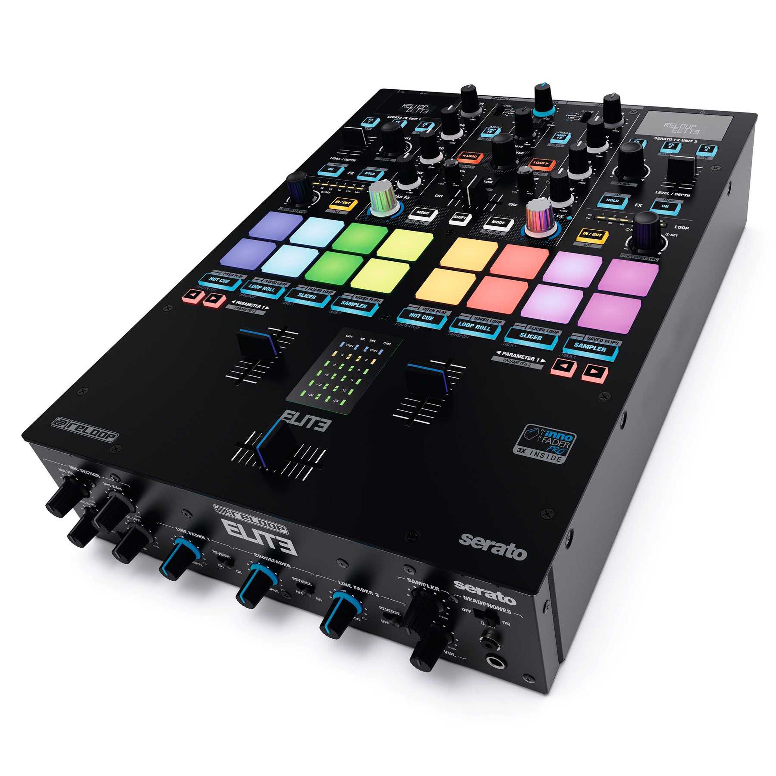RELOOP ELITE High-Performace DVS Mixer for Serato DJ Pro