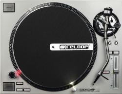 RELOOP RP-7000-SLV Quartz Drive Turntable Upper Torque Direct Drive Silver Edition RP-7000-SLV
