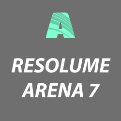 RESOLUME ARENA 7 VJ Software - Live HD Video Mixing + Projection Mapping & Advanced Features RESOLUME ARENA 7