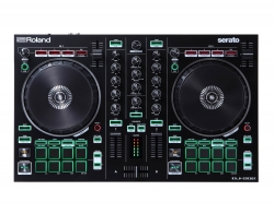 ROLAND DJ-202 Two-Channel Serato DJ Pro Intro Controller + Mix Pack DJ-202