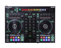 ROLAND DJ-505 2-Channel 4-Deck Serato DJ Controller with Step Sequencer DJ-505