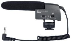 SENNHEISER MKE 400 Small Shot Gun Microphone for Video Camera MKE400