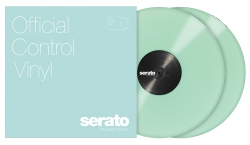 SERATO PRESSINGS SCV-PS-GID-OV Performance Series Glow-in-the-Dark Vinyl - PAIR