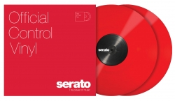 SERATO Performance Series in Red Vinyl (Pair) SCV-PS-RED-OV